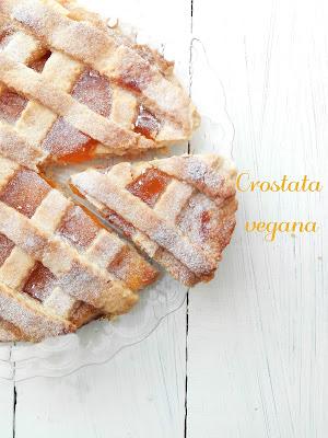vegan-vegetariano-senza glutine-senza lattosio-senza uova-crostata-marmellata