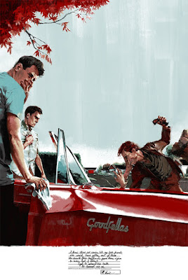 MondoCon 2017 Exclusive Goodfellas Movie Poster Screen Print by Marc Aspinall x Mondo