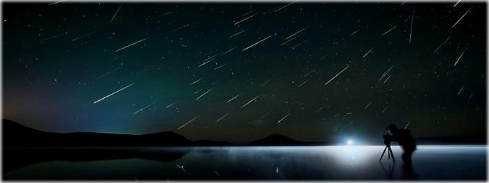 chuva de meteoros Geminidas 2017 - segunda noite de observações