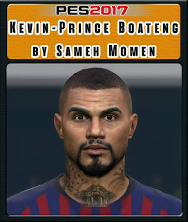 PES 2017 Faces Kevin-Prince Boateng by Sameh Momen