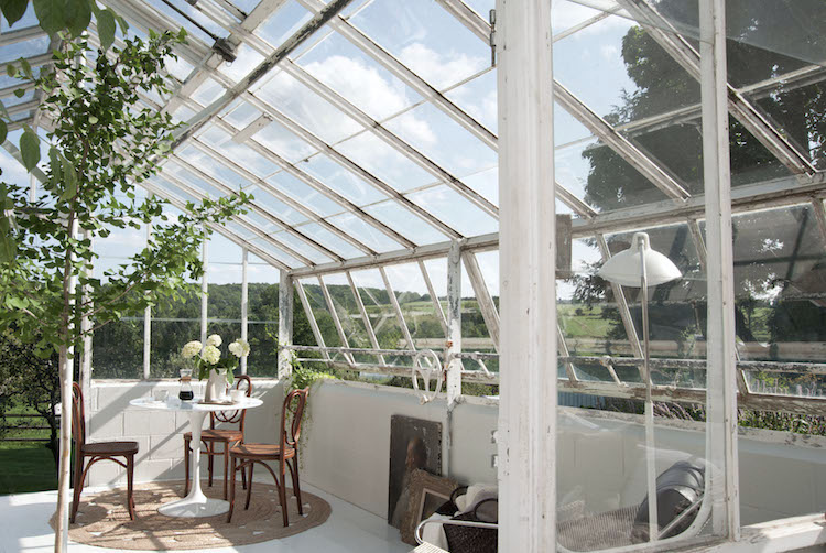 my scandinavian home: A Greenhouse Make-over With The Frame! on