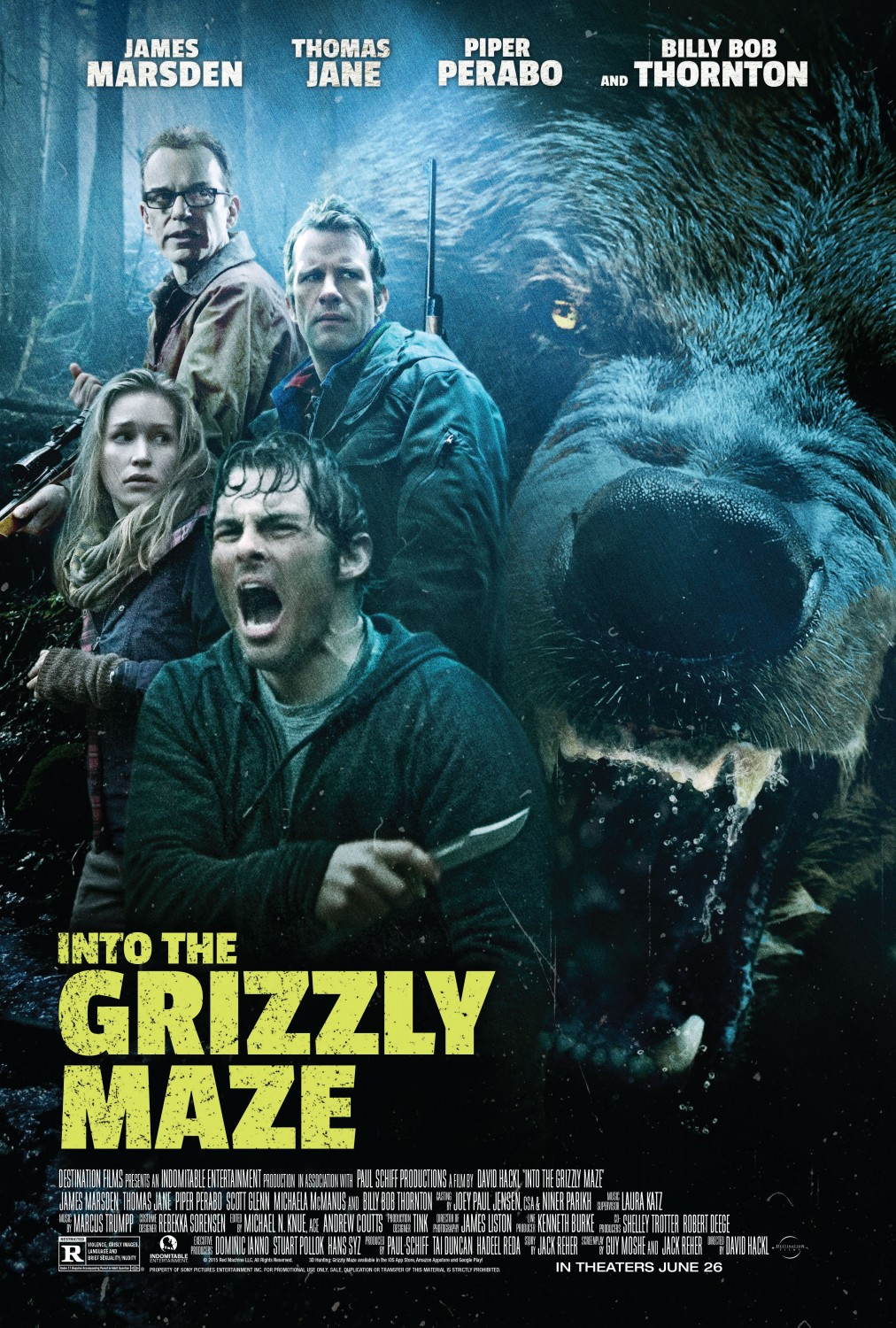 Into The Grizzly Maze (2015) ταινιες online seires oipeirates greek subs