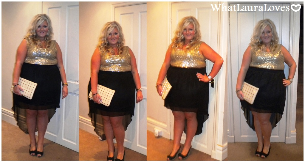 7f43bc1d WhatLauraWore: Sienna Couture Little Gold Number - WhatLauraLoves