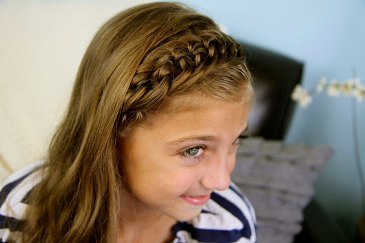 Easy Cute Hairstyle for school