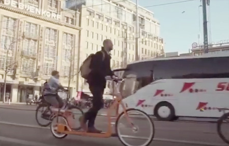 Lopifit Bike: This bike moves as you walk on it