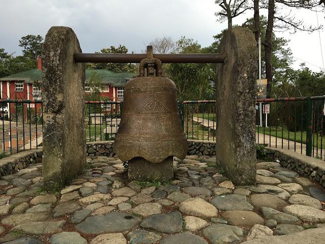 The Church of St. Mary the Virgin Sagada Mt. Province bell