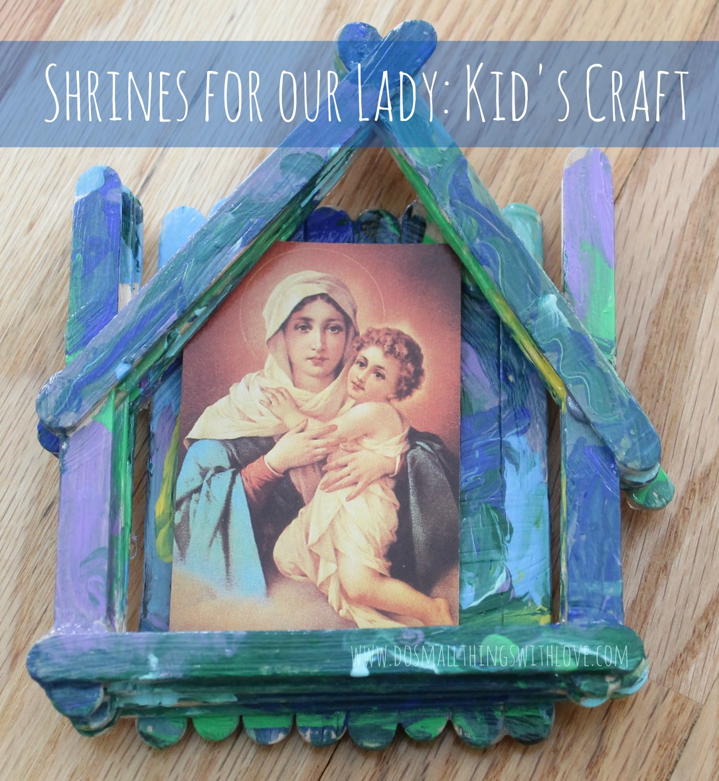 Shrines For Our Lady Catholic Sprouts
