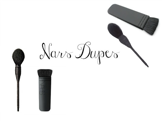 What I Did On Wednesday.: Nars Brush Dupes