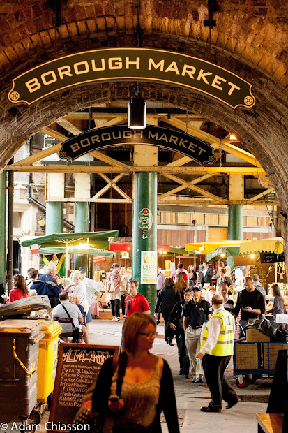 Food.music.life. Borough Market London England