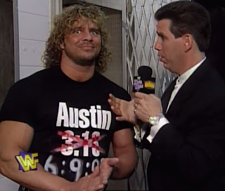WWE / WWF - King of the Ring 1997 - Ahmed Johnson - Todd Pettengill interviews Brian Pillman
