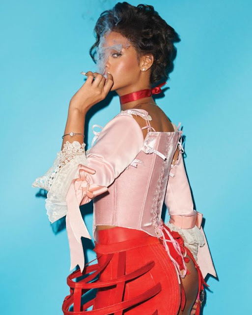 "Rihanna for ""CR Fashion Book,"" Issue 9. Photo: Terry Richardson/""CR Fashion Book"""
