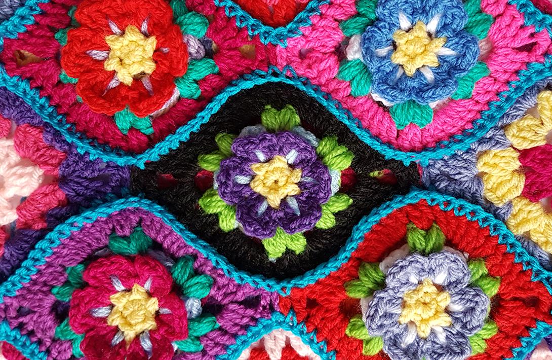 588618910b41 funkycrochet  Free crochet pattern alert - Moroccan Garden ...