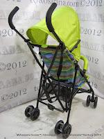 Kereta Bayi LightWeight BabyElle S210 Vivo - Green