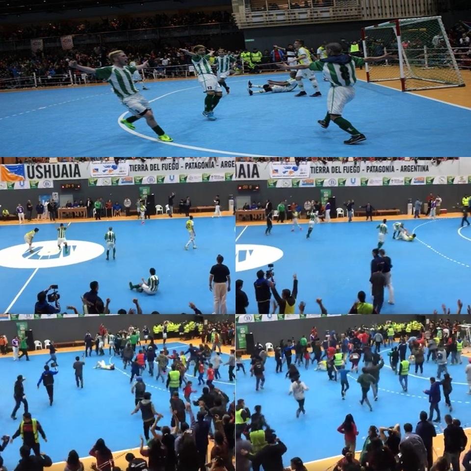 Ushuaia campeon del Argentino de Futsal