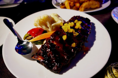 Ribs at Blu Bar and Grill