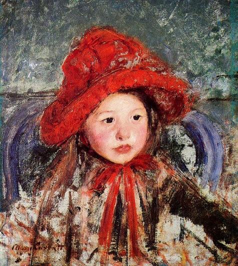Famous Paintings Portrait Red Coat
