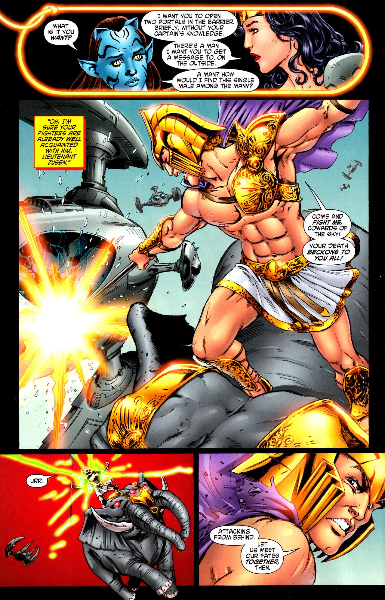 Read online Wonder Woman (2006) comic -  Issue #44 - 9