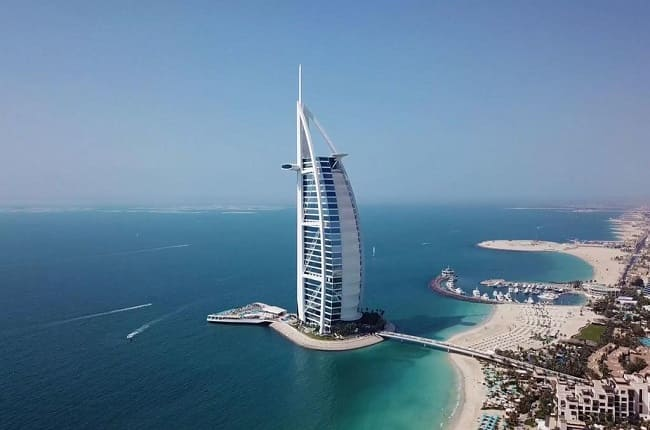 BURJ AL ARAB, o hotel mais luxuoso do mundo