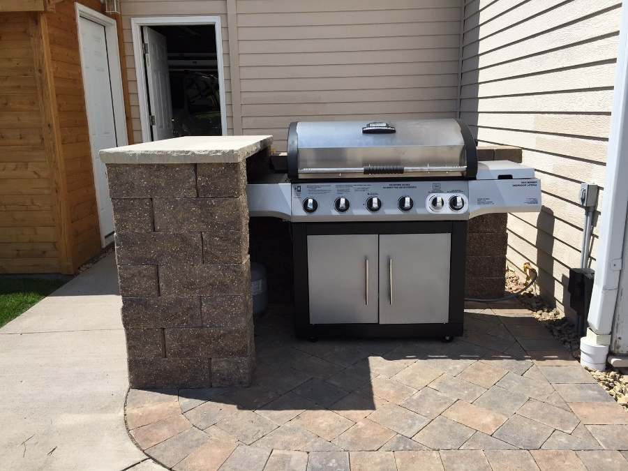 the allan block blog grilled to perfection diy grill station