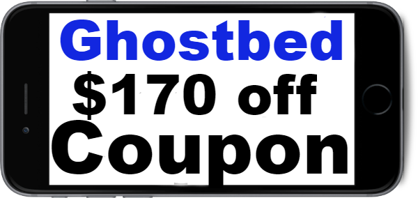 Ghostbed Coupon 2018, Ghostbed Coupon Sep, Oct, Nov, Dec, Ghostbed New Customer Coupon Code