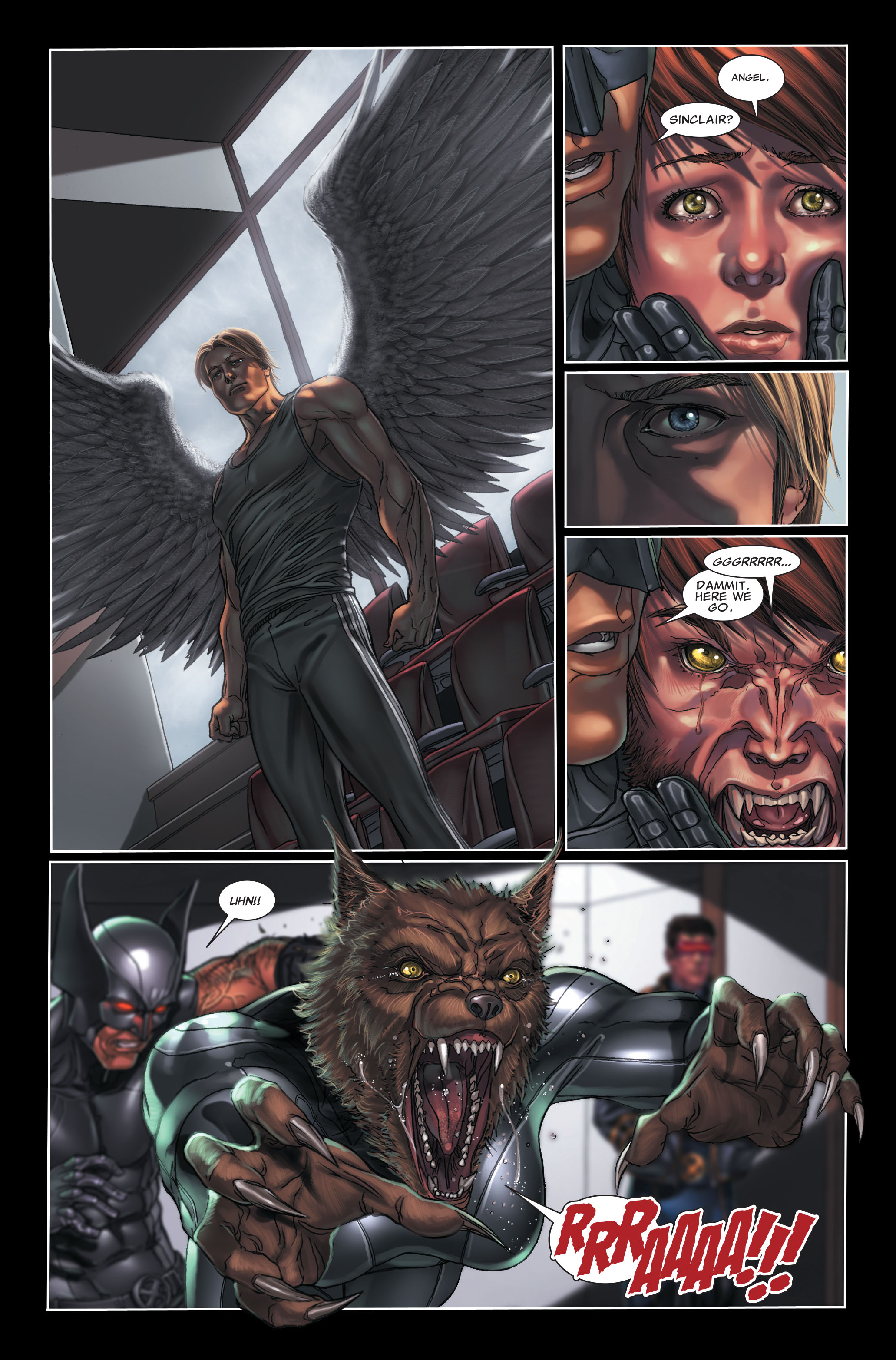Read online X-Force (2008) comic -  Issue #7 - 7