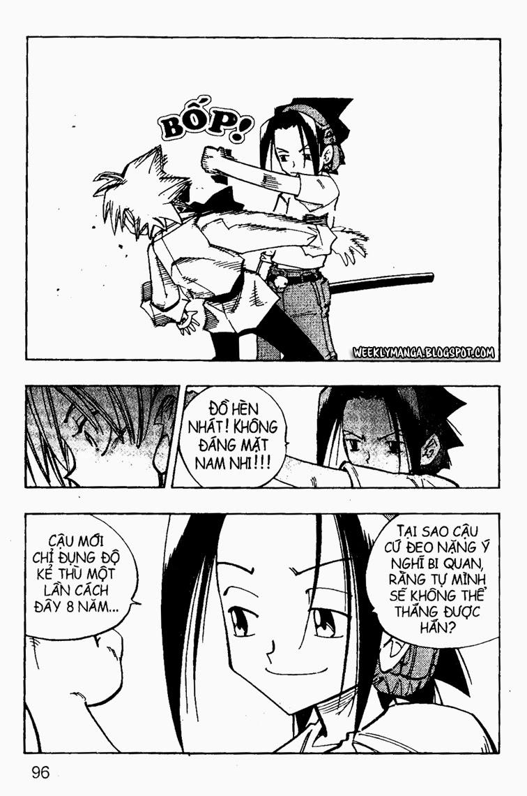 Shaman King [Vua pháp thuật] chap 88 trang 21