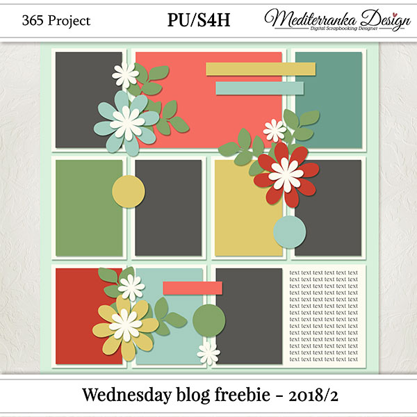 WEDNESDAY BLOG FREEBIE - 2018/2