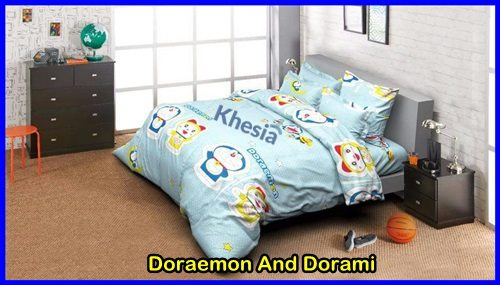 jual bed cover anak murah
