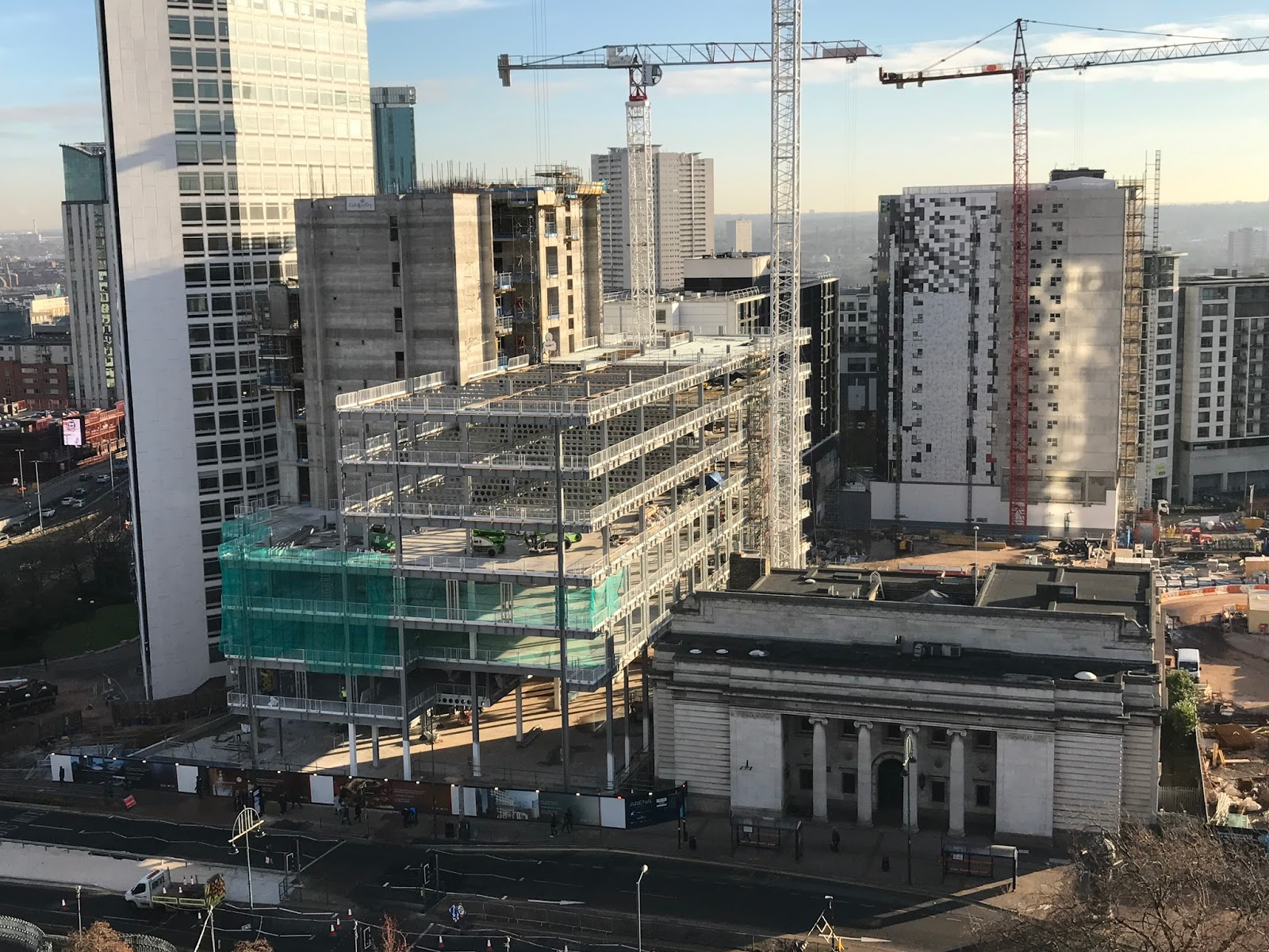 Hsbc Birmingham Hq Construction December Update
