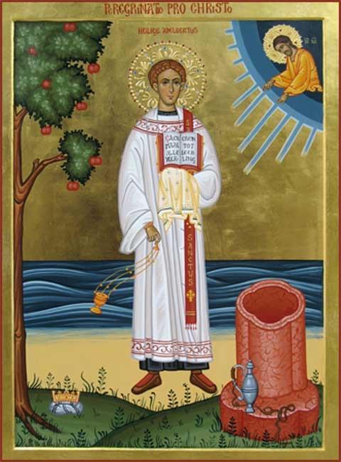 Άγιοι και Εκκλησία: Την 25ην του μηνός Ιουνίου, Ὅσιος Ἀδελβέρτος ὁ ...