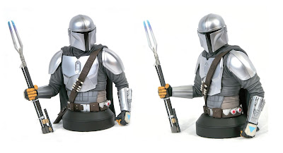 San Diego Comic-Con 2020 Exclusive Star Wars The Mandalorian MK3 Beskar Edition 1/6 Scale Bust by Gentle Giant