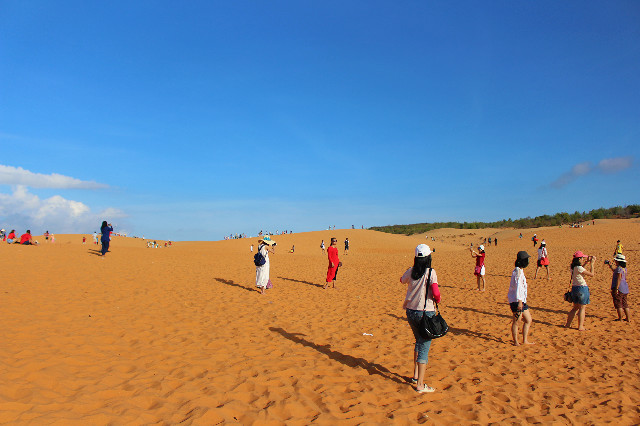 red dunes di mui ne