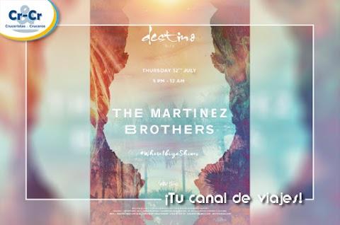 THE MARTINEZ BROTHERS HARÁN VIBRAR IBIZA EN LA SEGUNDA GRAN FIESTA DIURNA DE DESTINO PACHA RESORT