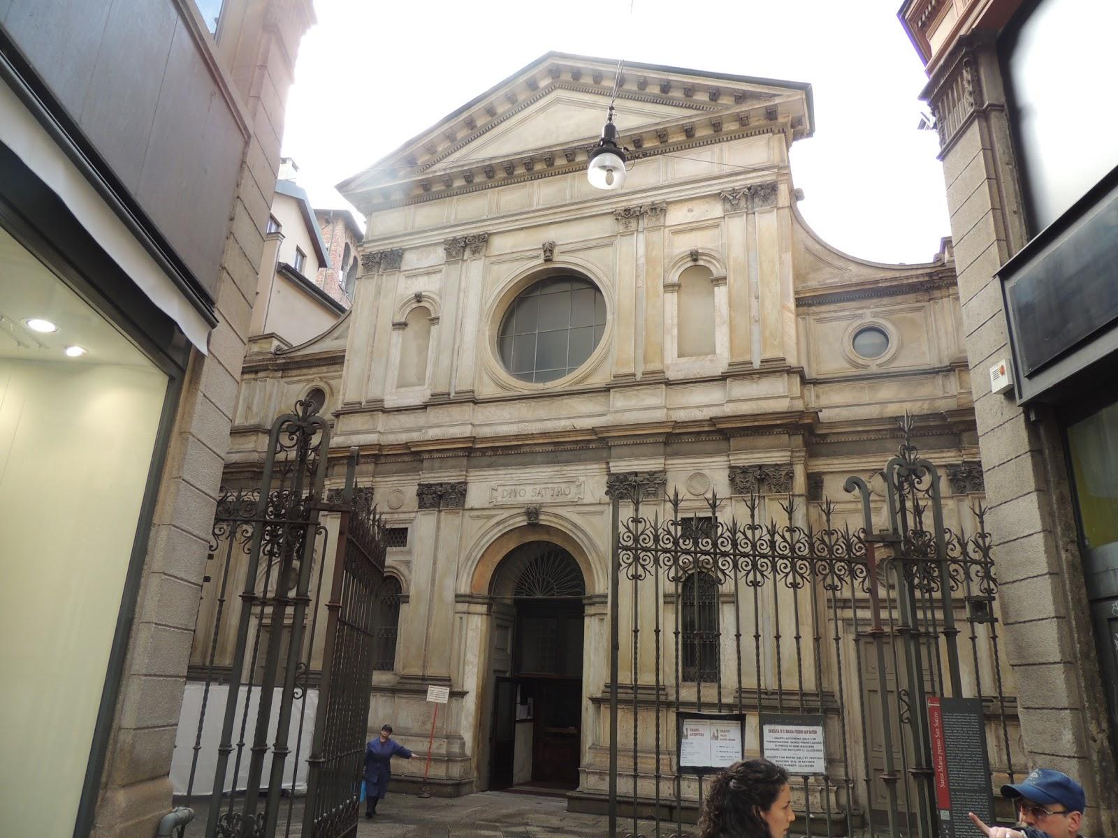 Imagini pentru Biserica Santa Maria Presso di San Satiro milano