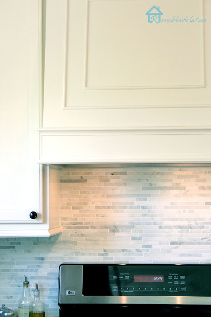 how to build a range hood with an insert