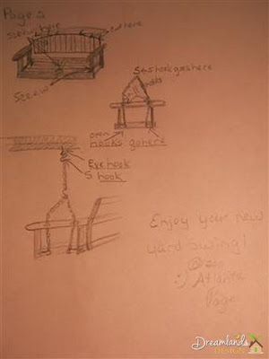 Yard swing - page two