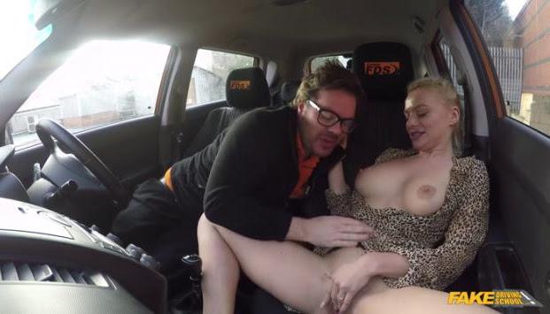 Fake Driving School - Elizabeth Romanova Polish pussy gets slammed