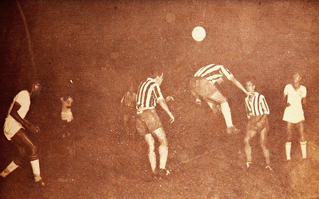 Chile y Brasil en Campeonato Sudamericano de 1945