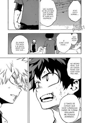 Mangá Boku No Hero Academia Capítulo 119