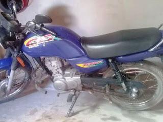 Moto é furtada em Cascavel