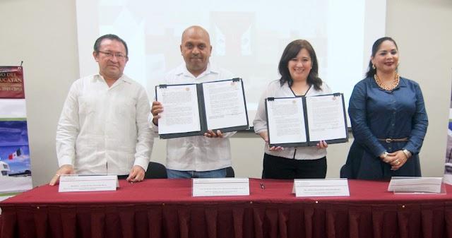 Congreso local firma convenio con el Instituto Tecnológico Superior de Valladolid