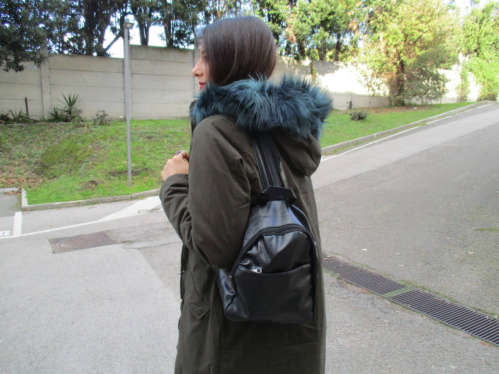 Black backpack - Mariateresa Scotti
