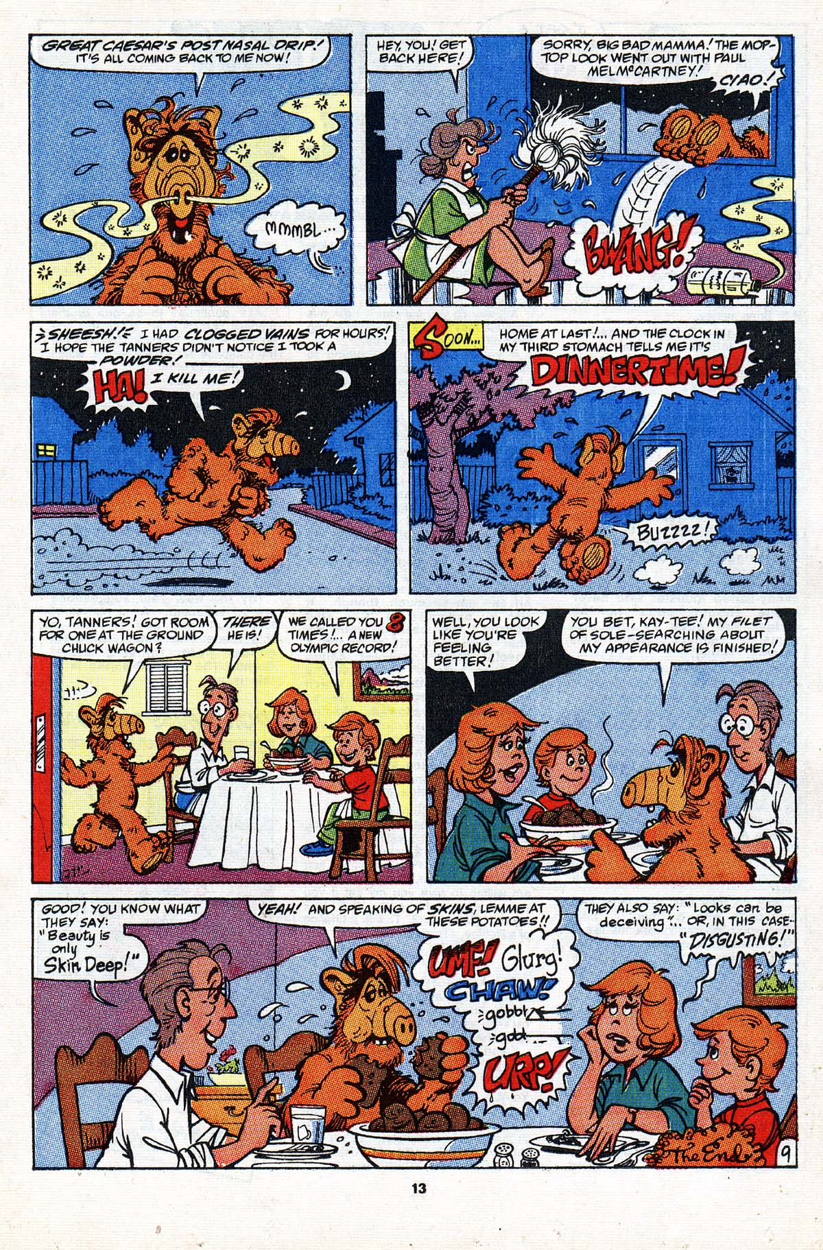 Read online ALF comic -  Issue #20 - 10