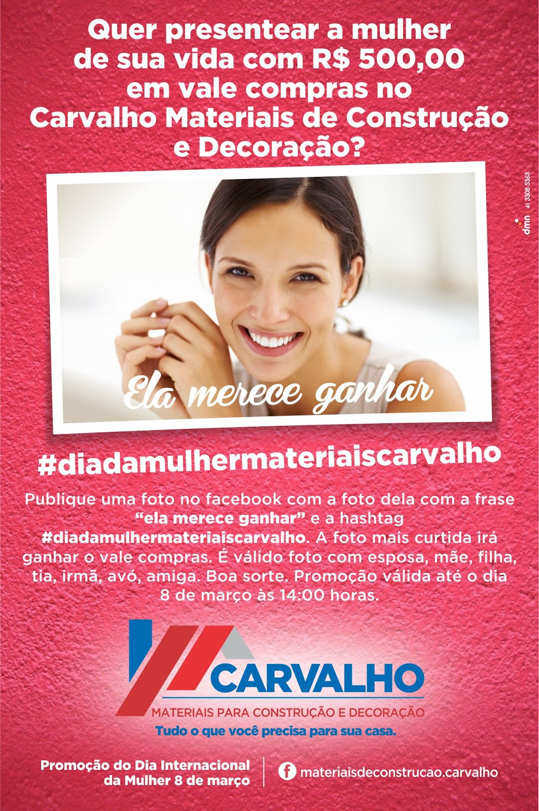 e23d36f0b Nancyara Lima ♥ Jornalista  Promoção Dia Internacional da Mulher