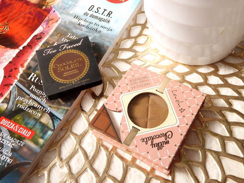 Lovely Milky Chocolate, bronzer, face, contouring