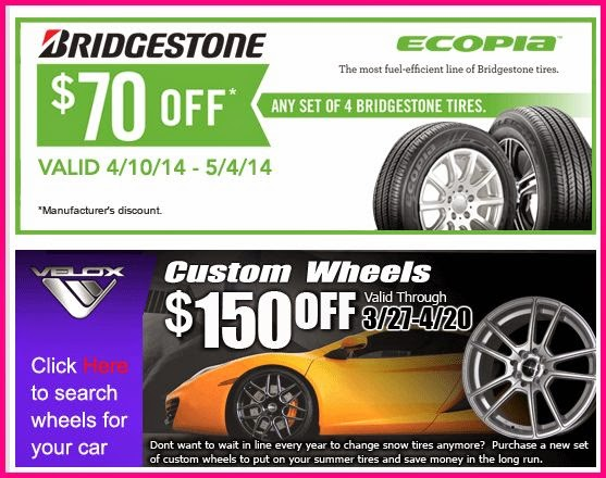 Costco Tires Coupon and rebates 2014