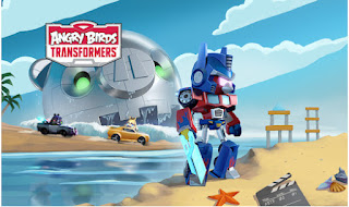 Angry Birds Transformers Mod Apk (Unlimited Coins and Jenga) + Data for Android