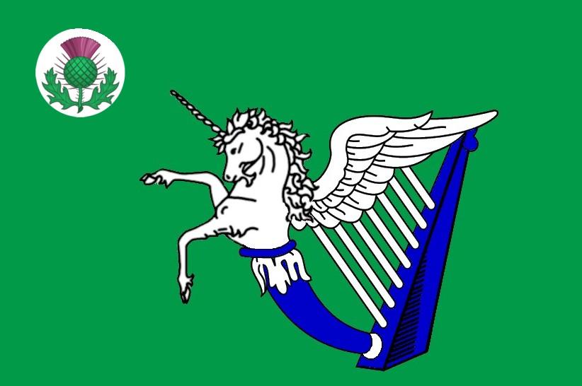 The Voice Of Vexillology Flags Heraldry Scotch Irish Unicorn