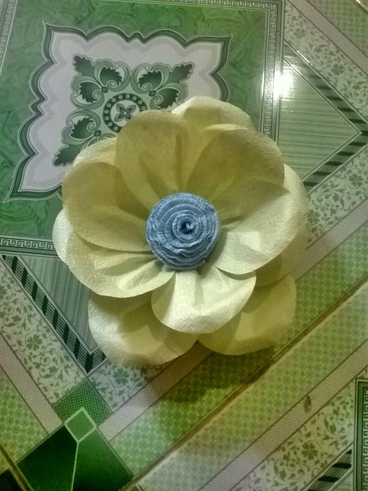 Hoa hong bang giay