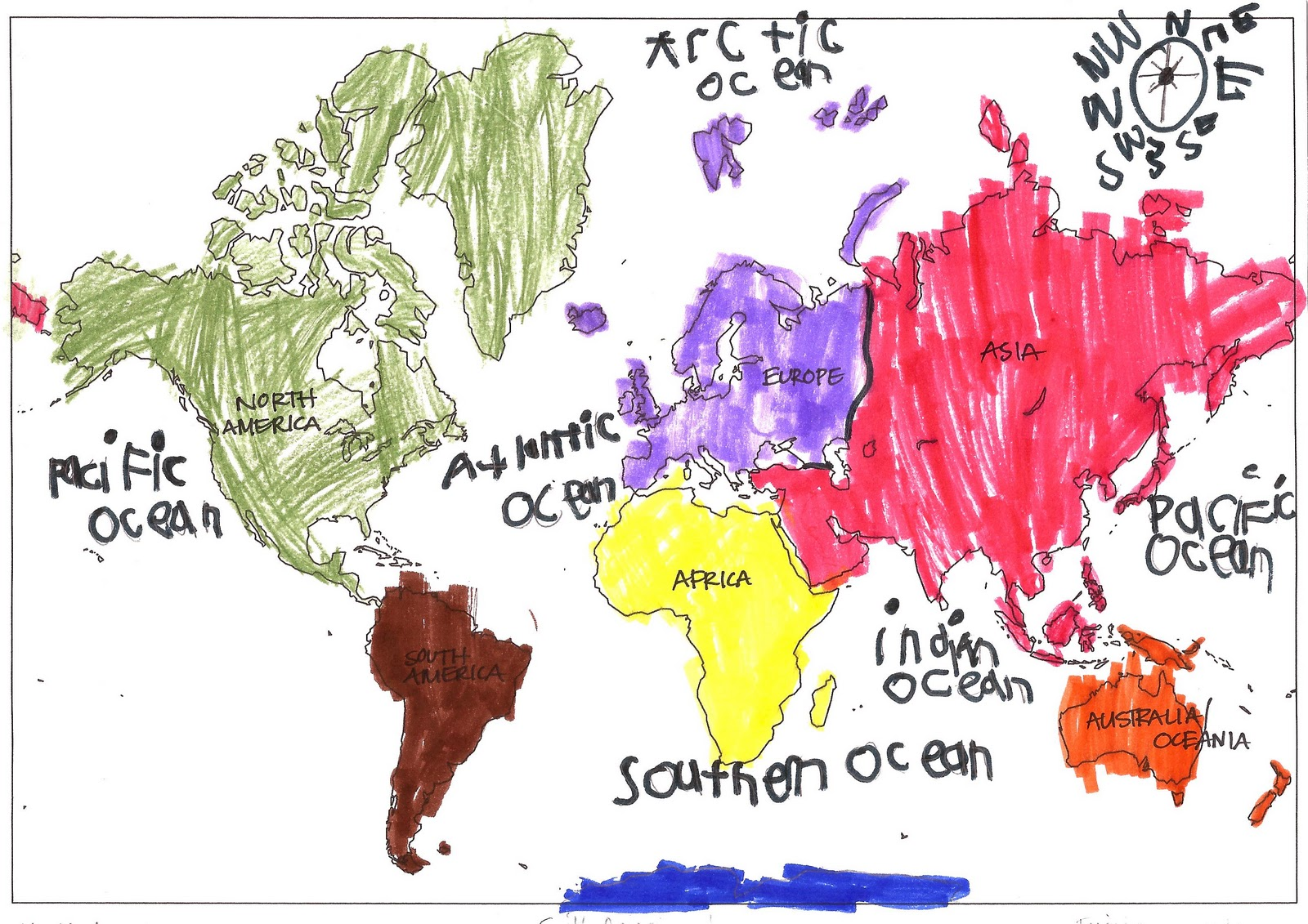 Relentlessly Fun, Deceptively Educational: Oceans, Continents, and ...